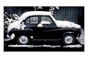Christmas Car 6x4